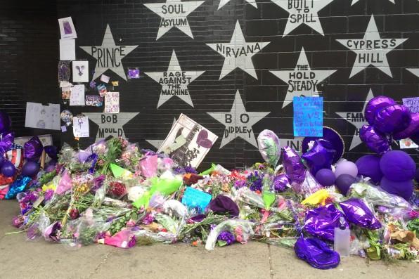 Prince Memorial - First Avenue, Minneapolis